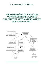 Обкладинка для Інформаційна технологія формування метаданих для систем автоматизованого документообігу