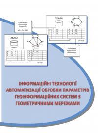 Обкладинка для Інформаційні технології автоматизації обробки параметрів геоінформаційних систем з геометричними мережами