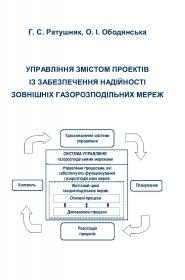 Обкладинка для Управління змістом проектів із забезпечення надійності зовнішніх газорозподільних мереж