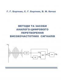 Обкладинка для Методи та засоби аналого-цифрового перетворення високо- частотних сигналів