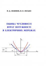 Обкладинка для Оцінка чутливості втрат потужності в електричних мережах
