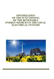 Обкладинка для Optimization of the functioning of the renewable energy sources in the local electrical systems