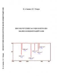 Обкладинка для Високочутливі засоби контролю малих концентрацій газів