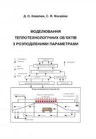 Обкладинка для Моделювання теплотехнологічних об'єктів з розподіленими параметрами