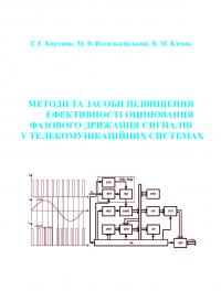 Обкладинка для Методи та засоби підвищення ефективності оцінювання фазового дрижання сигналів у телекомунікаційних системах