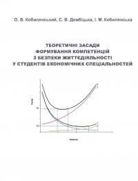 Обкладинка для Теоретичні засади формування компетенцій з безпеки жит тєдіяльності у студентів економічних спеціальностей